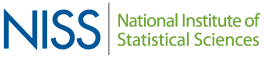 Logo for the National Institute of Statistical Sciences