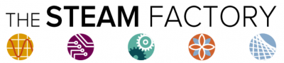 The Steam Factory logo