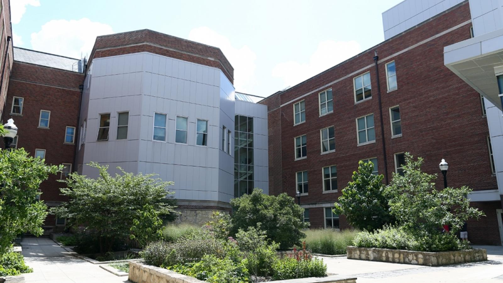 Exterior Photo of Jennings Hall